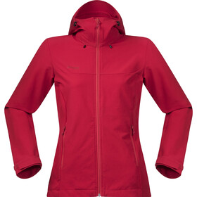 Bergans Ramberg Chaqueta Softshell Mujer, strawberry/red